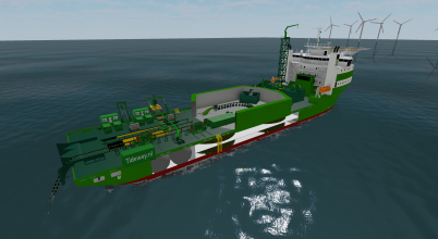 MULTIPURPOSE CABLE LAY VESSEL